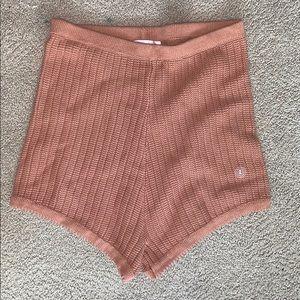 PacSun crochet shorts